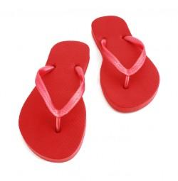 Flip Flops Deep Red