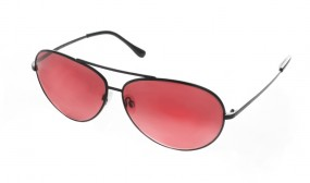 Pilotenbrille Sunset Red